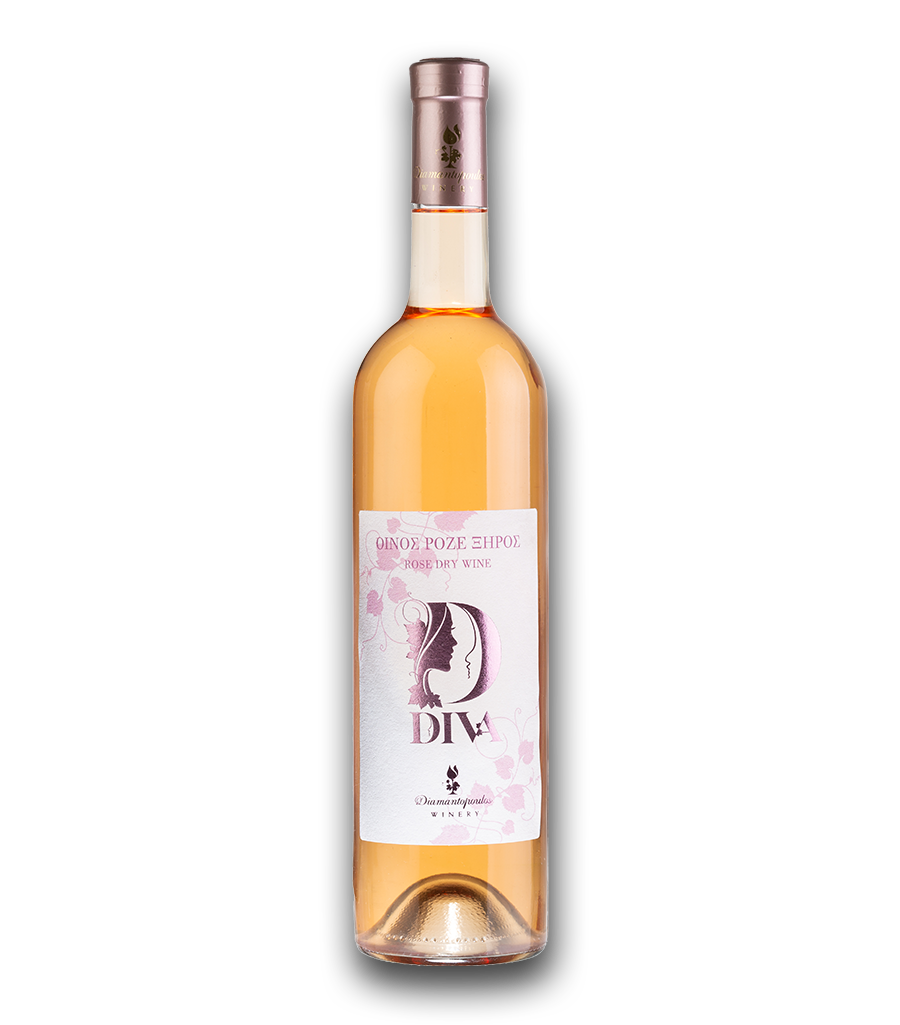 Diva Rose Wine | Nemean Wines | Diamantopoulos Winery