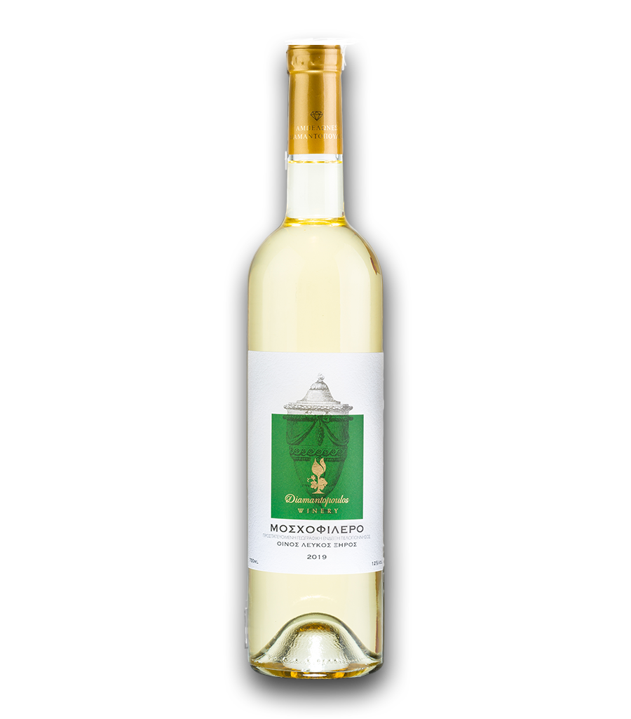 Mosxofilero Blanc Wine | Nemean Wines | Diamantopoulos Winery